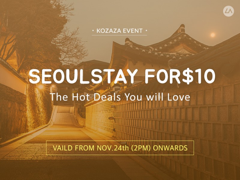 Seoul stay for $10